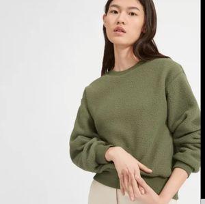 EVERLANE renew oversized fleece sweatshirt